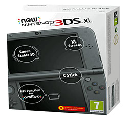 The New Nintendo 3DS XL - Metallic Black - Preorder for 13th March Nintendo 3DS