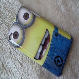 DIA Despicable Me Minions Hard case to fit iPod Touch 4 4th gen 4g Design 2 Mobile phones