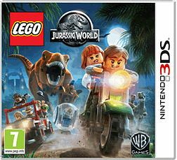 LEGO Jurassic World 3DS Cover Art