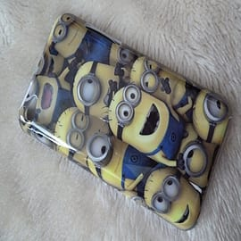 DIA Despicable Me Minions Hard case to fit iPod Touch 4 4th gen 4g Design 1 Mobile phones