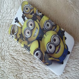 DIA Despicable Me Minions Hard case to fit iPhone 4 4g 4s Design 3 Mobile phones