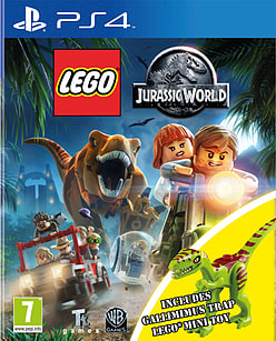 LEGO Jurassic World: Gallimimus Edition PlayStation 4 Cover Art