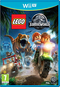 LEGO Jurassic World Wii U Cover Art