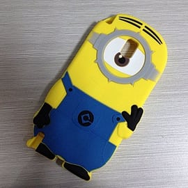 DIA One Eye Minion Minions Silicone Phone Case Cover Samsung Galaxy Note 3 N9000 N9002 N9005 Mobile phones