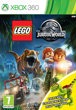 LEGO Jurassic World: Gallimimus Edition XBox 360 Cover Art