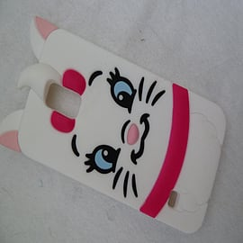 DIA DISNEY MARIE ARISTOCATS SILICONE CASE COVER FOR SAMSUNG GALAXY S5 G900H Mobile phones