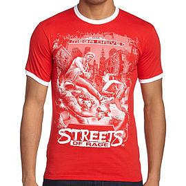 Sega Streets Of Rage T-Shirt (Small) Clothing