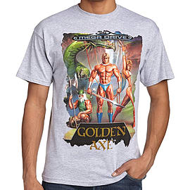 Sega Golden Axe T-Shirt (XX-Large) Clothing