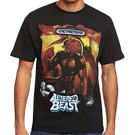 Sega Altered Beast T-Shirt (Small) Clothing