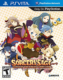 Sorcery Saga: Curse of the Great Curry God (Playstation Vita) US IMPORT PS Vita