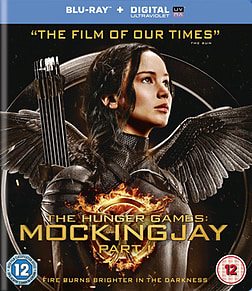 The Hunger Games: Mockingjay Part 1 Blu Ray Blu-ray