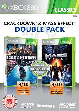 Microsoft Crackdown and Mass Effect - Double Pack (XBOX 360) XBOX360