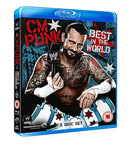 CM PUNK - BEST IN THE WORLD BLU-RAY Blu-ray