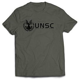 UNSC Halo T-Shirt (Men's X-Large) Clothing