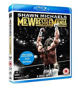 SHAWN MICHAELS - MR WRESTLEMANIA BLU-RAY Blu-ray