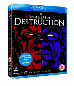 BROTHERS OF DESTRUCTION: GREATEST MATCHES BLU-RAY Blu-ray