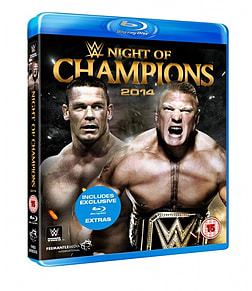 NIGHT OF CHAMPIONS 2014 BLU-RAY Blu-ray