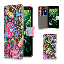 Huawei Ascend Y300 Stylish Design PU leather case - Jellyfish Mobile phones