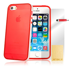 iPhone 6 (4.7) Bumper Gel Case - Red Mobile phones