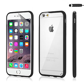 iPhone 6 (4.7) Hard shell bumper case - Black Mobile phones
