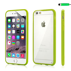 iPhone 6 (4.7) Hard shell bumper case - Green Mobile phones