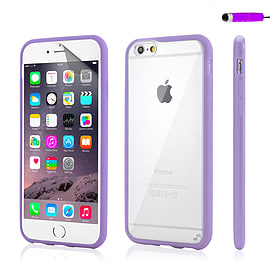 iPhone 6 (4.7) Hard shell bumper case - Purple Mobile phones