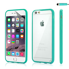 iPhone 6 (4.7) Hard shell bumper case - Turquoise Mobile phones