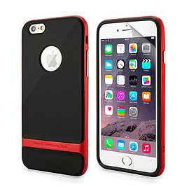 iPhone 6 (4.7) Bullet Proof dual layer case - Red Mobile phones