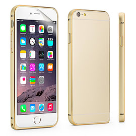 iPhone 6 (4.7) Aluminium bumper case - Gold Mobile phones