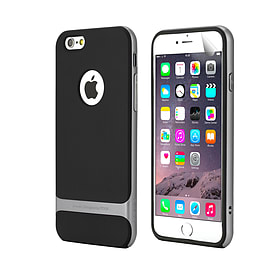 iPhone 6 (4.7) Rock Design dual layer shock proof case - Grey Mobile phones
