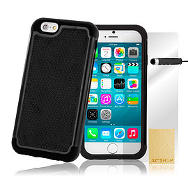 iPhone 6+ (5.5) Dual layer shock proof case - Black Mobile phones