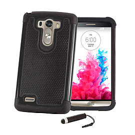 LG G3 Dual layer shock proof case - Black Mobile phones
