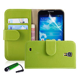 Nokia Lumia 630 Stylish PU leather wallet case - Green Mobile phones