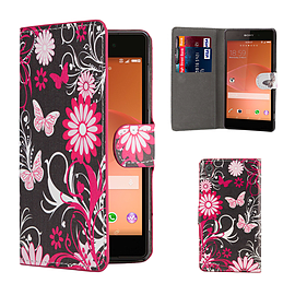 Sony Xperia Z3 Stylish Design PU leather case - Gerbera Mobile phones