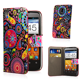 ZTE Blade L2 Stylish Design PU leather case - Jellyfish Mobile phones