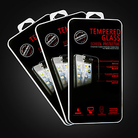 Pack of 3 Samsung Galaxy S5 Extra Armoured tempered glass screen protector Mobile phones