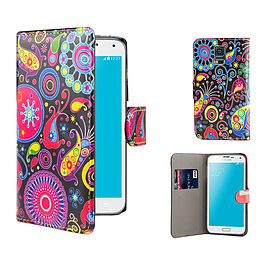 Samsung Galaxy S5 Mini PU leather design book case - Jellyfish Mobile phones