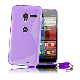 Motorola Moto X S-Line gel case - Purple Mobile phones