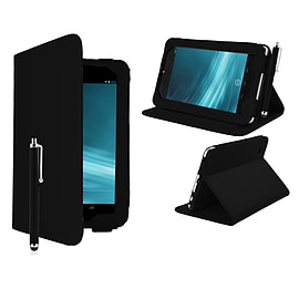 Google Nexus 7 Angle Book PU leather case - Black Mobile phones