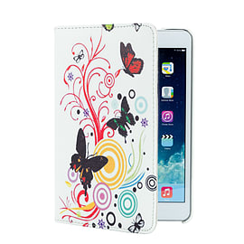 iPad Mini 360 PU leather design case - Colour Butterfly Tablet