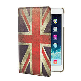 iPad Mini 360 PU leather design case - Union Jack Tablet