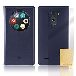 LG G3 Quick Circle window case - Deep Blue Mobile phones