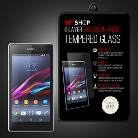 Sony Xperia Z3 Compact Extra Armoured tempered glass screen protector Mobile phones