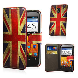 ZTE Blade V '5' Stylish Design PU leather case - Union Jack Mobile phones
