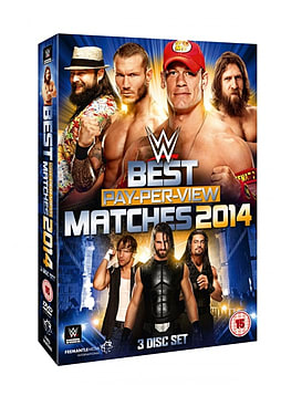 BEST PPV MATCHES 2014 DVD DVD