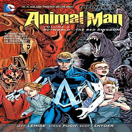 Animal Man: Volume 3: Rotworld the Red Kingdom (the New 52) Books