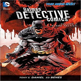 Batman Detective Comics: Volume 2: Scare Tactics Books