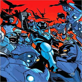 Blue Beetle: Black and Blue Books