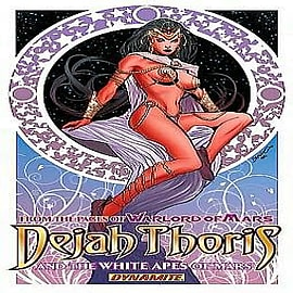 Dejah Thoris and the White Apes of Mars Books