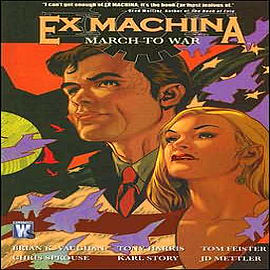 Ex Machina: Volume 4: March to War Books